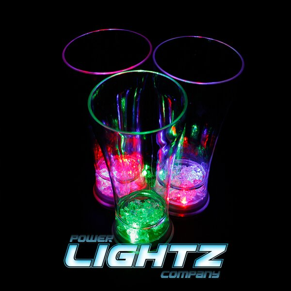 1 LED Iceglas - 300ml in Gelb